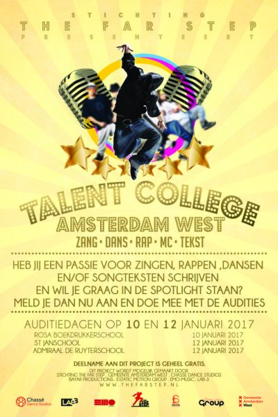 Flyer Stichting The Far Step